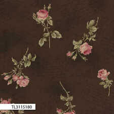 Lecien-Antique Rose Brown Floral 31151-80 by the metre fabric by Lecien/Quilting