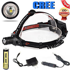 3000LM CREE XM-L Q5 LED Headlamp Headlight Flashlight Head Light Lamp