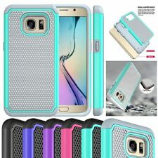 Shockproof Back Hybrid Rugged Rubber Hard Case Cover for Samsung Galaxy S7 5.1'