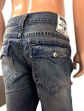 NWT TRUE RELIGION MEN'S JEANS RICKY W FLAP SE, $229, SZ 28, 40, 100% AUTHENTIC!!