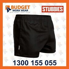 Stubbies Original Rugger Cotton Drill Short (SE2060 ) in Black,Navy,Green,White