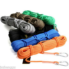 9.5mm Ultralight Auxiliary Rope Safety Climbing Rope Outdoor Survival Equipment