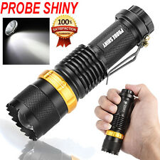 CREE Q5 3Mode 3000LM Flashlight ZOOMABLE LED Torch Super Bright AA/14500 Фонарик