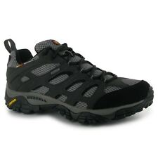 Merrell Gents Mens Moab GTX Walking Shoes Laced Leather Sneakers Trainers