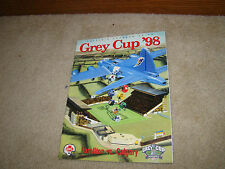 1998 CFL Grey Cup Program Programme Hamilton Calgary