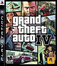 Grand theft Auto IV PS3 video game PlayStation