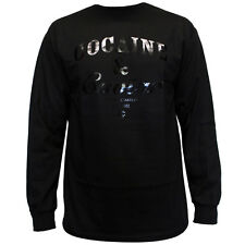 Crooks & Castles Cocaine & Caviar Long Sleeve T-Shirt Black Black