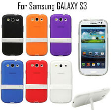 Shockproof Kickstand Matte Slim TPU Back Cover Case For Samsung Galaxy S3 i9300