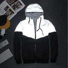 Men Reflective 3m Jacket Hip Hop Outdoor  Sport Waterproof Windbreaker Coats