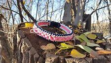Dog Collar Rope Dog Collar 550 Paracord Sanctified Weave 550 Paracord