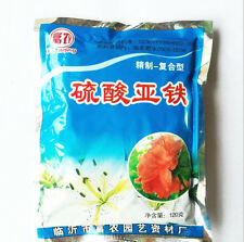 120grams/Ferrous sulfate iron Fertilizer  and anti leaves yellow flowers