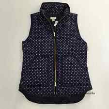 J.Crew Factory Excursion Quilted Puffer Vest In Polka Dot NWT Size: XXS-XL