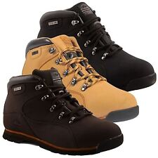 Mens Groundwork Leather Steel Toe Cap Safety Oil Resistant Work Boots Shoes Size