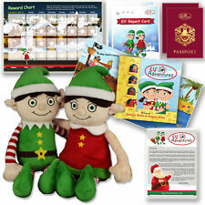 Elf on the Shelf Boy Girl Christmas Gift Set Elf Adventures Early Years Activity