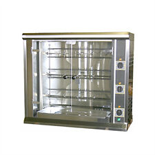 Equipex RBE-12 Electric 3-Spit Commercial Rotisserie, 208 Volt 1 or 3 Phase