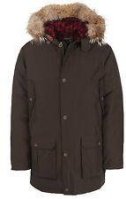 Woolrich Men's Arctic Parka Down Filled Very Warm Coyote Ruff NWT Size XL & 2XL
