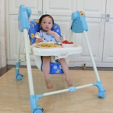 Baby Security Highchair Toddler Multi-Use Seat Kids Dining Playing Rocking Chair