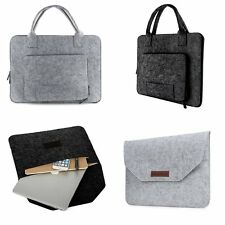 "Felt Sleeve Laptop Case Cover Hand Bag for Apple MacBook Air Pro11"" 12"" 13"" 15"""