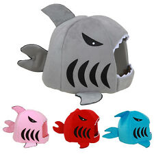 Cute Shark Pet House Dog Cat Bed Kennel Doggy Puppy Warm Cushion Basket Pad Nest