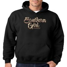 Dixie Hoodie Southern Girl And Proud Of It Redneck Rebel Rose Sassy Chick