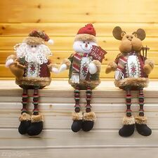 Lovely Santa Claus/Snowman/Reindeer Shape Doll Christmas Tree Hanging Decoration