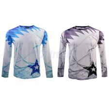 Men's T-shirts Long Sleeve Quick Dry Tee Tops Thermal Sports Wear Subcoating