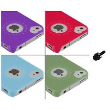 Heart Love Pattern Ultra Thin Hard Case Cover+Mini Stylus for iPhone 4 4G 4S