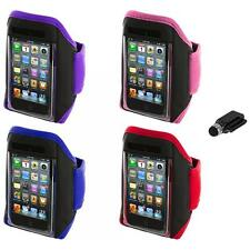 Gym Sports Armband Case Cover+Dock Stylus for iPod Touch 4th 3rd 2nd Gen 4G 3G