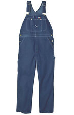 Dickies 8396SNB Stone Wash Indigo Blue Bib Overall ASST Size Free US ship