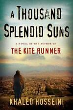 A Thousand Splendid Suns by Khaled Hosseini Hardcover Book