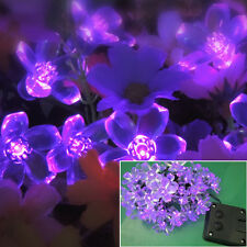 Christmas LED Solar Lamps String Garden Outdoor Fairy Lights Xmas Party Decor