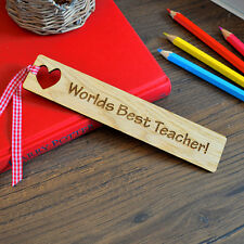 Personalised Teacher Bookmark - For End Of Term Summer Leaving Thank You Present