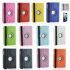 """For iPad Mini 1 2 3 Pro 9.7"""" 360 Rotating Flip Leather Case Stand Back Cover"""