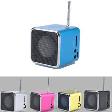1×Practical Mini LCD MP3 Stereo Music Player USB Micro SD/TF FM Radio Speaker LU