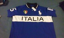 Polo Ralph Lauren Big and Tall ITALIA Big Pony Royal BLUE SHIRT