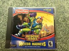 Fisher-Price Rescue Heroes: Meteor Madness Video Game (Windows/Mac, 2002)