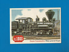 1955 Topps Rails & Sails Steam Locomotive Shay-geared Type #80 NM-MT