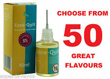 10ml BOTTLE TOBACCO E CIG LIQUID JUICE ECIG SHISHA ELIQUID EJUICE 0 6 12 18 24mg