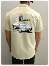 Men's Airplane Shirt-Korean War Sabrejet- F-86 Sabre Fighter Jet-Aviation Shirt