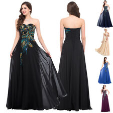 Plus Size 2~24W Fashion Wedding Party Ball Gown Evening Formal Long prom Dress