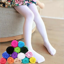 1Pcs Stockings Tights Pantyhose Candy Hot Girls Kids Opaque Hosiery Dance Ballet