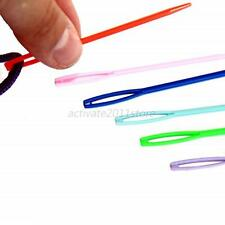 20Pcs/Set Plastic Sewing Needles Art Education Knit Crafts Weaving Tools 7cm/9cm