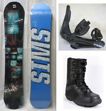 """NEW TRANS """"PIRATE"""" SNOWBOARD, BINDINGS, BOOTS PACKAGE - 150cm"""