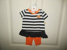 NWT Girls Carters Halloween Outfit 3-6M 2 Piece Outfit