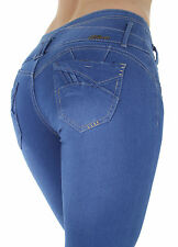 AT7-73213S – Colombian Design, Butt Lift, Levanta Cola, Sexy Skinny Jeans