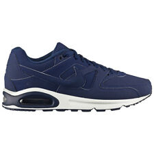 Nike Air Max Command Premium Men's Shoes Leather Sneaker Navy Blue NEW skyline