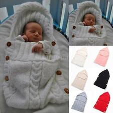 Baby Infant Toddler Blanket Swaddle Stroller Wrap Sleeping Bag Sleepsack L0F0