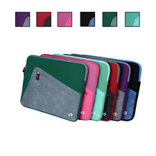 Neoprene Sleeve Cover Case with Front Pocket fit Sony VAIO Fit 14A