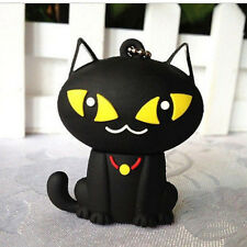 New 8GB 16GB 32GB Cartoon Black Cat USB 2.0 Flash Memory Stick Pen Drive U Disk