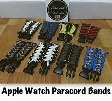 Custom Made Apple Watch Paracord Watch Band